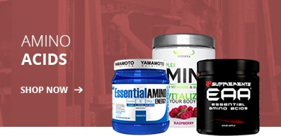 BCAA & EAA Amino Acids from all our brands