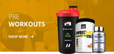 Pre Workouts from MPAsupps, Scitec Nutrition & Muscle Rage